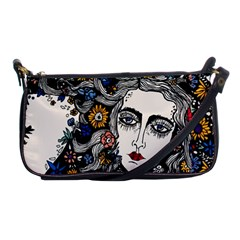 Flower Woman Evening Bag