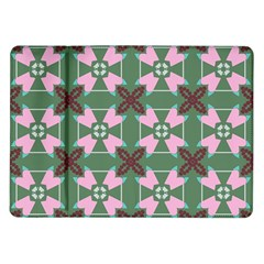 Pink Brown Flowers Pattern     			samsung Galaxy Tab 10 1  P7500 Flip Case by LalyLauraFLM