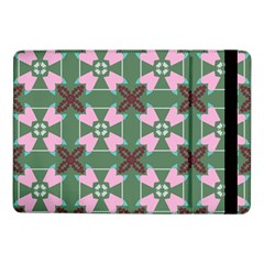 Pink Brown Flowers Pattern     			samsung Galaxy Tab Pro 10 1  Flip Case by LalyLauraFLM