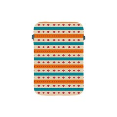 Rhombus And Stripes Pattern      			apple Ipad Mini Protective Soft Case by LalyLauraFLM