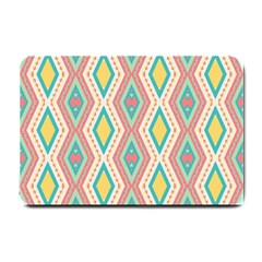 Rhombus Chains       			small Doormat by LalyLauraFLM