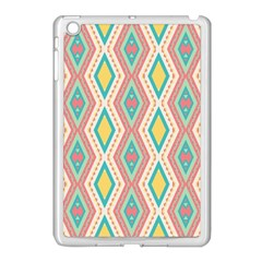 Rhombus Chains       			apple Ipad Mini Case (white) by LalyLauraFLM