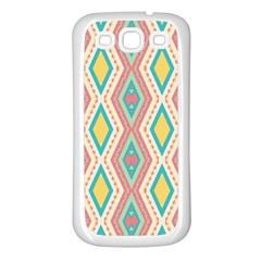 Rhombus Chains       			samsung Galaxy S3 Back Case (white) by LalyLauraFLM