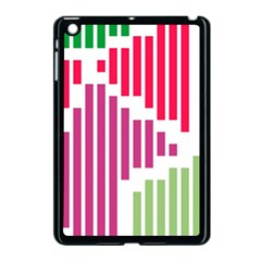Vertical Stripes    			apple Ipad Mini Case (black) by LalyLauraFLM