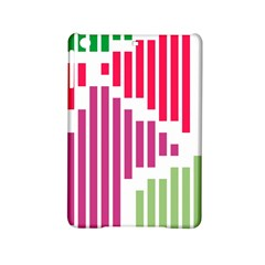 Vertical Stripes    			apple Ipad Mini 2 Hardshell Case by LalyLauraFLM