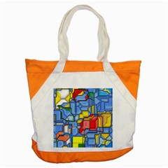 3d Shapes 			accent Tote Bag by LalyLauraFLM