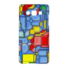3d Shapes 			samsung Galaxy A5 Hardshell Case by LalyLauraFLM