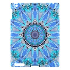 Sapphire Ice Flame, Light Bright Crystal Wheel Apple Ipad 3/4 Hardshell Case by DianeClancy