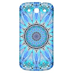 Sapphire Ice Flame, Light Bright Crystal Wheel Samsung Galaxy S3 S Iii Classic Hardshell Back Case by DianeClancy
