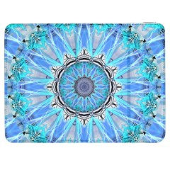 Sapphire Ice Flame, Light Bright Crystal Wheel Samsung Galaxy Tab 7  P1000 Flip Case by DianeClancy