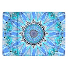 Sapphire Ice Flame, Light Bright Crystal Wheel Samsung Galaxy Tab 10 1  P7500 Flip Case by DianeClancy