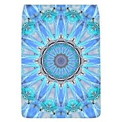Sapphire Ice Flame, Light Bright Crystal Wheel Flap Covers (l)  by DianeClancy