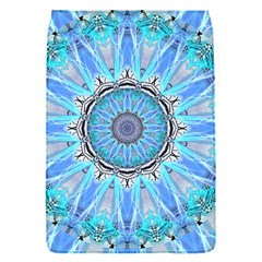 Sapphire Ice Flame, Light Bright Crystal Wheel Flap Covers (s)  by DianeClancy
