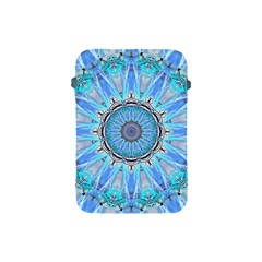 Sapphire Ice Flame, Light Bright Crystal Wheel Apple Ipad Mini Protective Soft Cases by DianeClancy