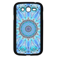 Sapphire Ice Flame, Light Bright Crystal Wheel Samsung Galaxy Grand Duos I9082 Case (black) by DianeClancy