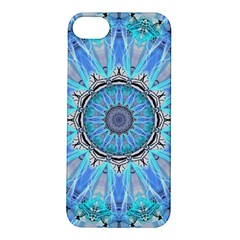 Sapphire Ice Flame, Light Bright Crystal Wheel Apple Iphone 5s/ Se Hardshell Case by DianeClancy