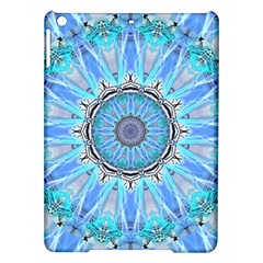 Sapphire Ice Flame, Light Bright Crystal Wheel Ipad Air Hardshell Cases by DianeClancy