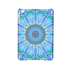 Sapphire Ice Flame, Light Bright Crystal Wheel Ipad Mini 2 Hardshell Cases by DianeClancy