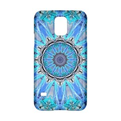 Sapphire Ice Flame, Light Bright Crystal Wheel Samsung Galaxy S5 Hardshell Case  by DianeClancy