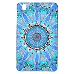 Sapphire Ice Flame, Light Bright Crystal Wheel Samsung Galaxy Tab Pro 8 4 Hardshell Case by DianeClancy