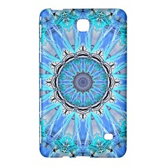 Sapphire Ice Flame, Light Bright Crystal Wheel Samsung Galaxy Tab 4 (7 ) Hardshell Case  by DianeClancy
