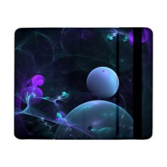 The Music Of My Goddess, Abstract Cyan Mystery Planet Samsung Galaxy Tab Pro 8 4  Flip Case by DianeClancy