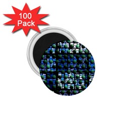 Looking Out At Night, Abstract Venture Adventure (venture Night Ii) 1 75  Magnets (100 Pack)  by DianeClancy