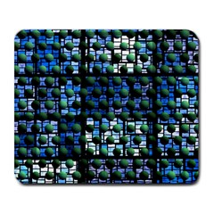 Looking Out At Night, Abstract Venture Adventure (venture Night Ii) Large Mousepads
