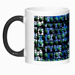 Looking Out At Night, Abstract Venture Adventure (venture Night Ii) Morph Mugs by DianeClancy
