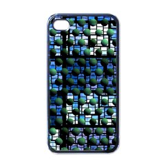 Looking Out At Night, Abstract Venture Adventure (venture Night Ii) Apple Iphone 4 Case (black) by DianeClancy