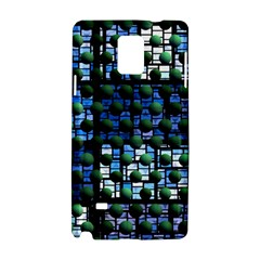 Looking Out At Night, Abstract Venture Adventure (venture Night Ii) Samsung Galaxy Note 4 Hardshell Case by DianeClancy