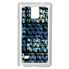 Looking Out At Night, Abstract Venture Adventure (venture Night Ii) Samsung Galaxy Note 4 Case (white) by DianeClancy