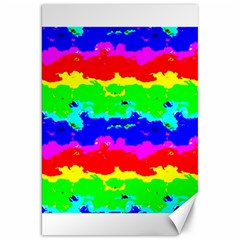 Colorful Digital Abstract  Canvas 20  X 30   by dflcprints