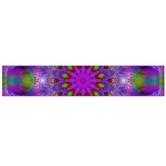 Rainbow At Dusk, Abstract Star Of Light Flano Scarf (large) by DianeClancy