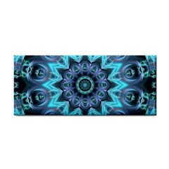 Star Connection, Abstract Cosmic Constellation Hand Towel by DianeClancy
