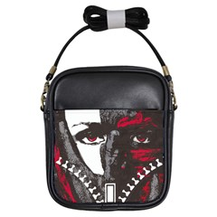 Zipper Face Girl s Sling Bag by DryInk