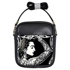 Tattoed Gypsie Girl s Sling Bag by DryInk