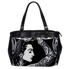 Tattooed Gypsie Oversize Office Handbag (one Side)