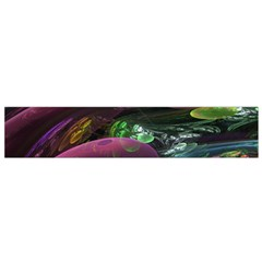 Creation Of The Rainbow Galaxy, Abstract Flano Scarf (small) by DianeClancy