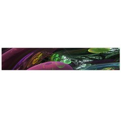 Creation Of The Rainbow Galaxy, Abstract Flano Scarf (large) by DianeClancy