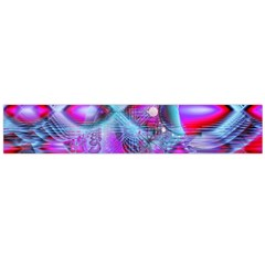 Crystal Northern Lights Palace, Abstract Ice  Flano Scarf (large) by DianeClancy