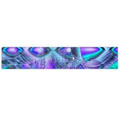 Peacock Crystal Palace Of Dreams, Abstract Flano Scarf (large) by DianeClancy
