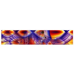 Winter Crystal Palace, Abstract Cosmic Dream (lake 12 15 13) 9900x7400 Smaller Flano Scarf (small) by DianeClancy