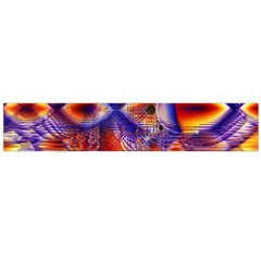Winter Crystal Palace, Abstract Cosmic Dream (lake 12 15 13) 9900x7400 Smaller Flano Scarf (large) by DianeClancy