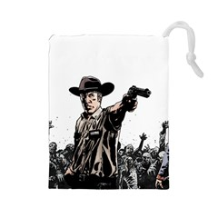 Walkingdead 1 Drawstring Pouch (large) by TheDean