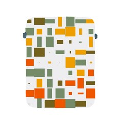 Rectangles And Squares In Retro Colors  			apple Ipad 2/3/4 Protective Soft Case by LalyLauraFLM