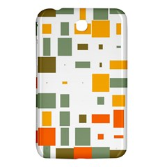 Rectangles And Squares In Retro Colors  			samsung Galaxy Tab 3 (7 ) P3200 Hardshell Case by LalyLauraFLM