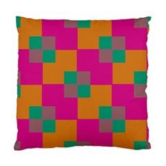 Squares    	standard Cushion Case (two Sides) by LalyLauraFLM