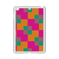 Squares    			apple Ipad Mini 2 Case (white) by LalyLauraFLM