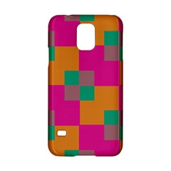 Squares    			samsung Galaxy S5 Hardshell Case by LalyLauraFLM